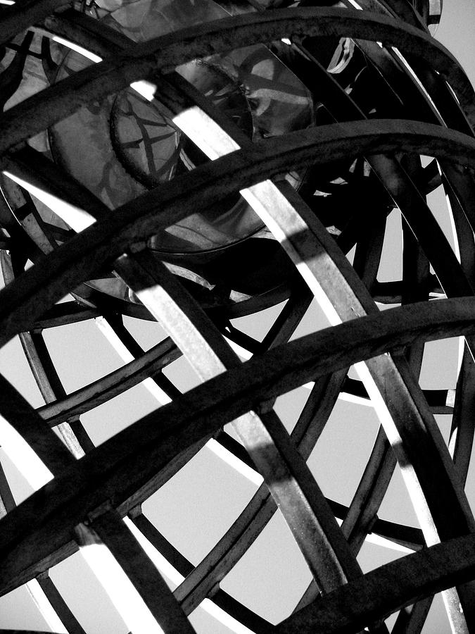 Grid Photograph - Grid IIi by Oksana Pelts