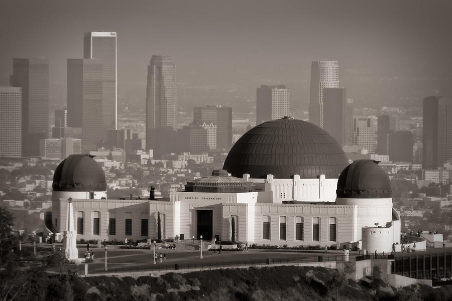3scape Photograph - Griffith Observatory by Adam Romanowicz