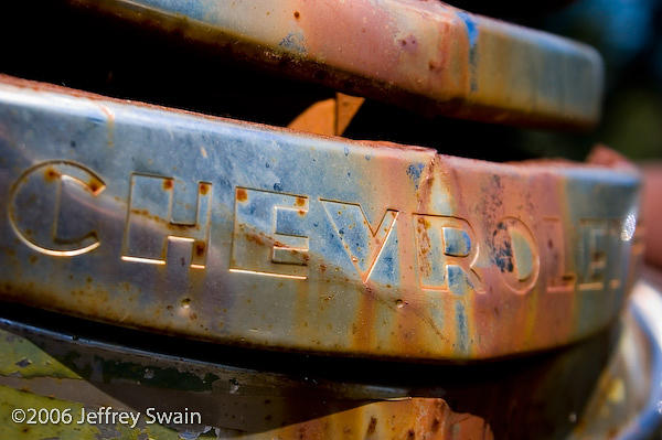 Cars And Trucks Photograph - Grill by Jeffrey Swain