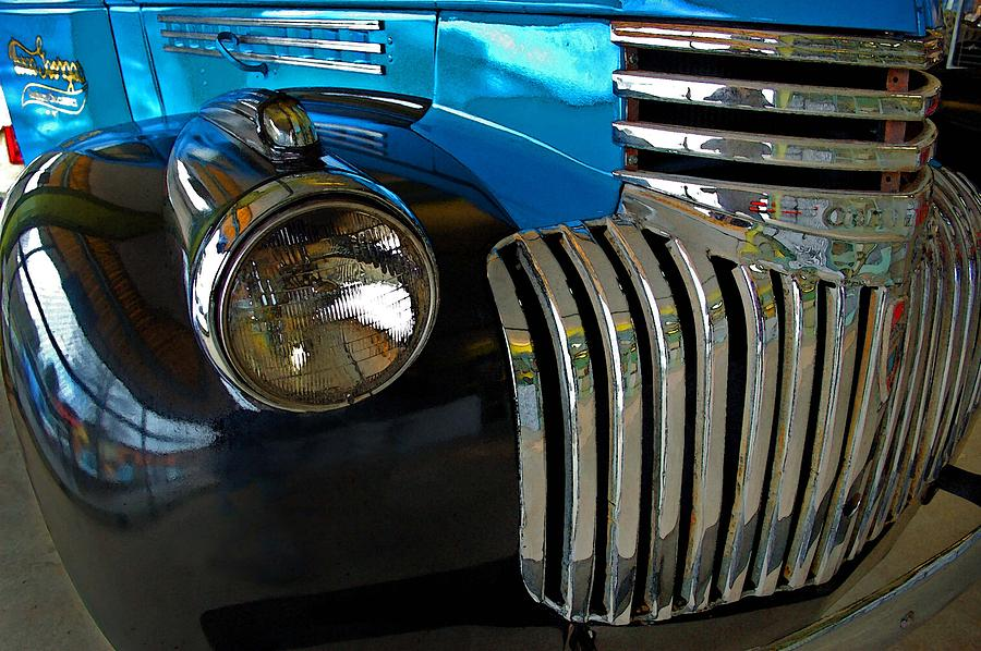 Car Photograph - Grill Work by Michael Thomas