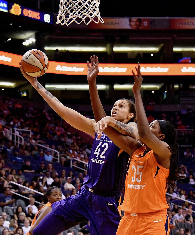 Brittney Griner Photograph - Griner Driven by Devin Millington