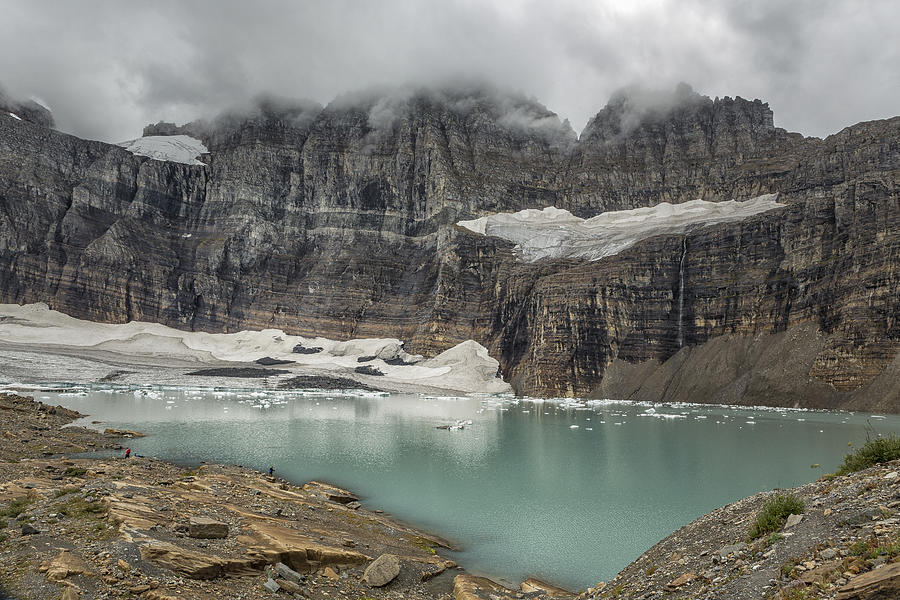 Grinnell and Salamander Glaciers, Soon Things of the Past by Belinda Greb