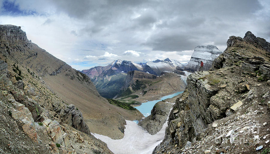 Glacier National Park Photograph - Grinnell Glacier Overlook - Glacier National Park by Bruce Lemons