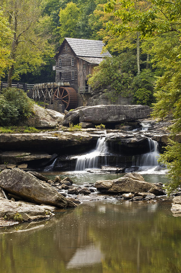 Grist Mill Photograph - Grist Mill No. 1 by Harry H Hicklin