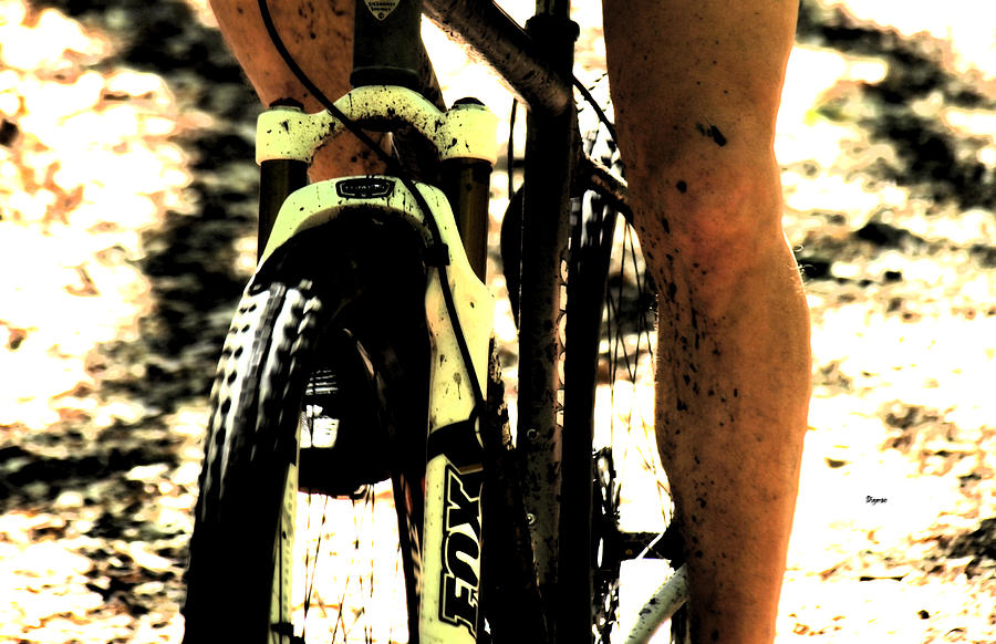 Bicycle Photograph - Grit  by Steven Digman