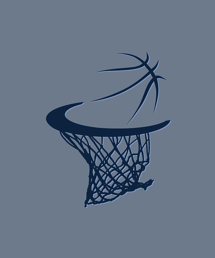Grizzlies Photograph - Grizzlies Basketball Hoop by Joe Hamilton