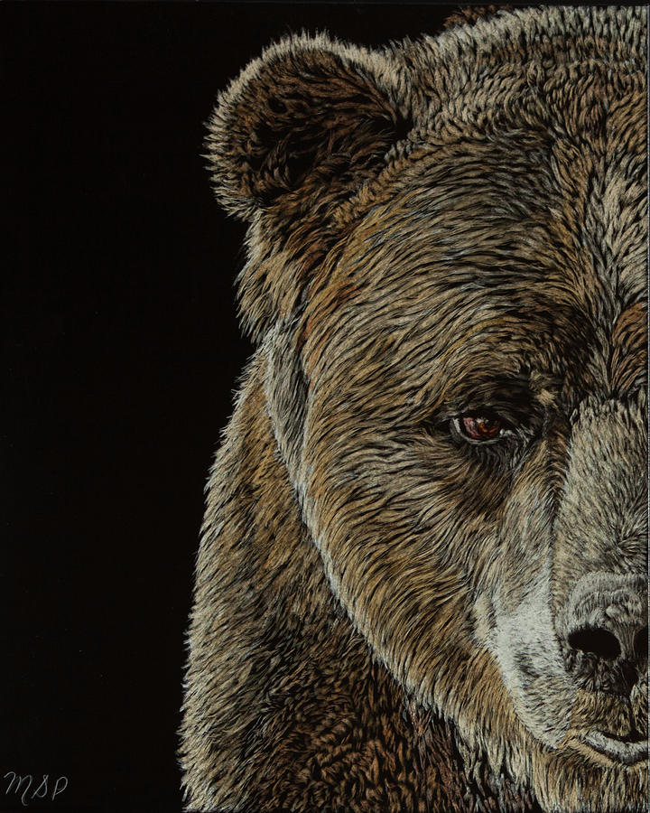 Grizzly Eye by Margaret Sarah Pardy