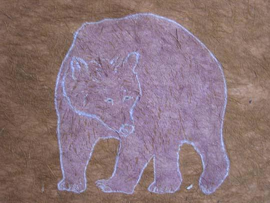 Wildlife Print - Grizzly by Harriet Greene
