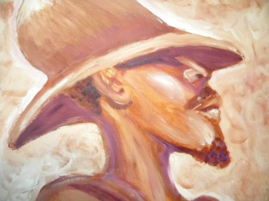 African American Painting - Groovin by Jan Gilmore