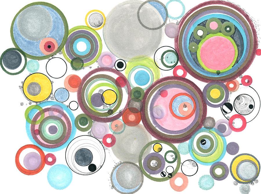 Groovy effervescence by Regina Valluzzi
