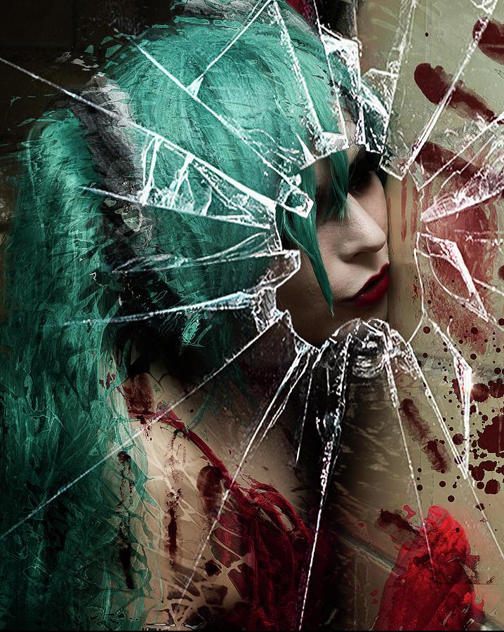 Dark Digital Art - Grotesque Romance by Jeremy Martinson