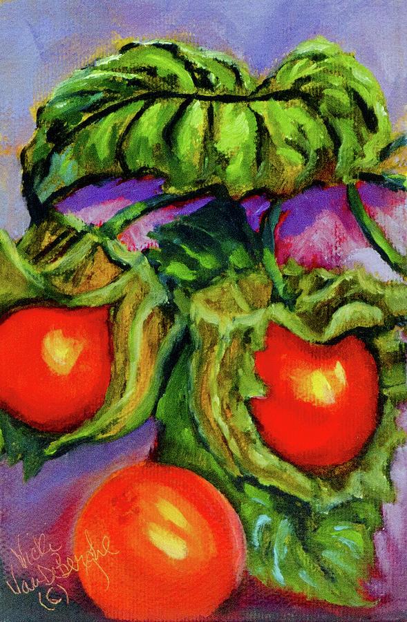 Ground Cherries by Vicki VanDeBerghe