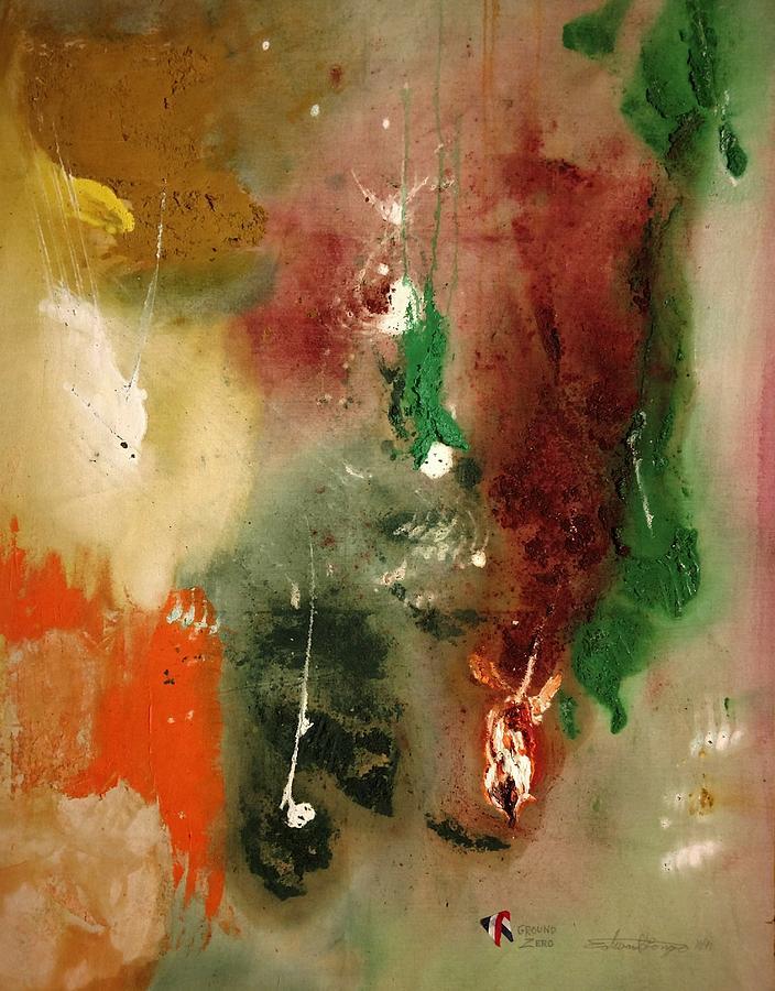 Ground Zero Painting - Ground Zero by Edward Longo