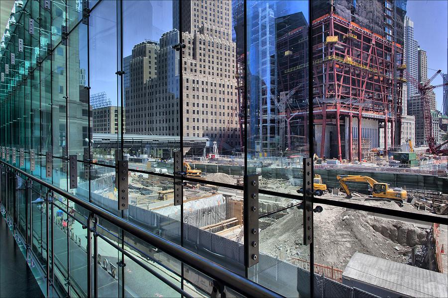 Ground Zero Photograph - Ground Zero From World Financial Center by Robert Ullmann