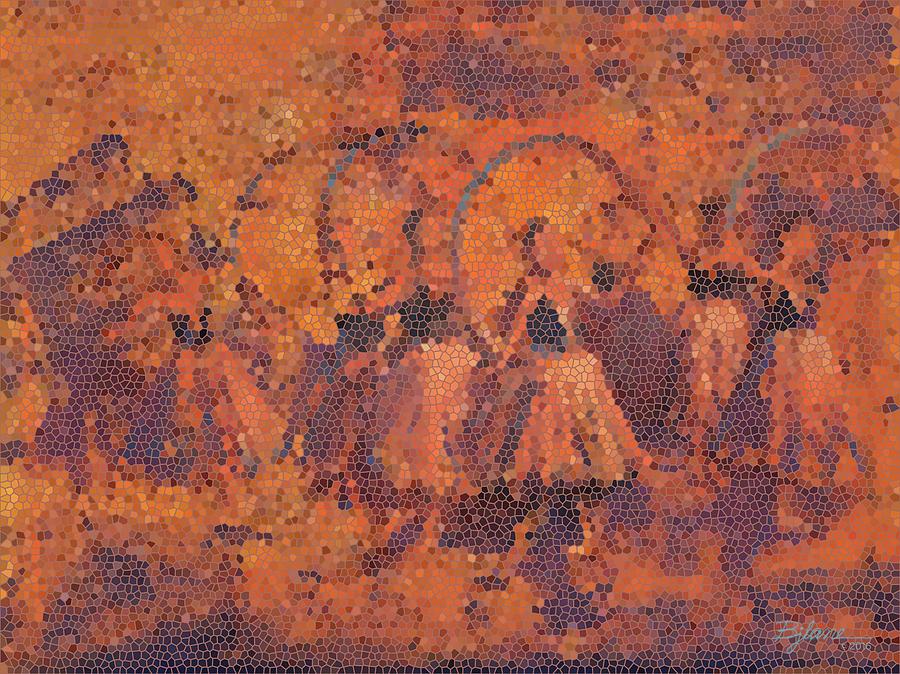 Groupe de Danseur Une Fleur 1 by BJ Lane