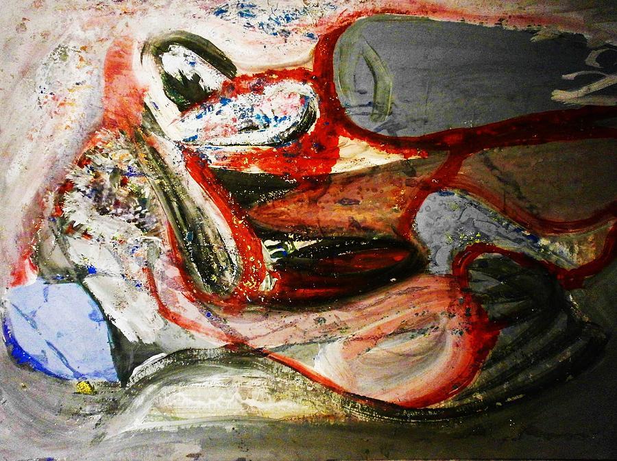 Painting Painting - Grow by Hugo Razlerfight