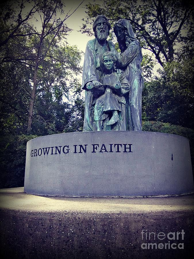 Growing In Faith Photograph