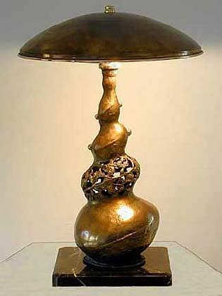 Lamp Sculpture - Growth by Boris Sarikov