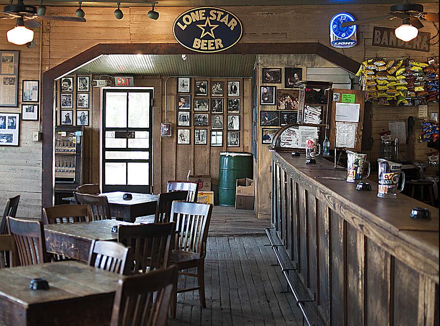 Gruene Photograph - Gruene Hall Bar by Brian Kinney