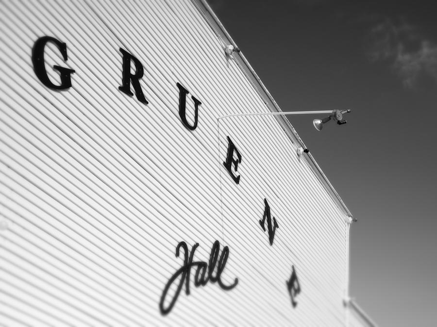 Texas Photograph - Gruene Hall by John Gusky