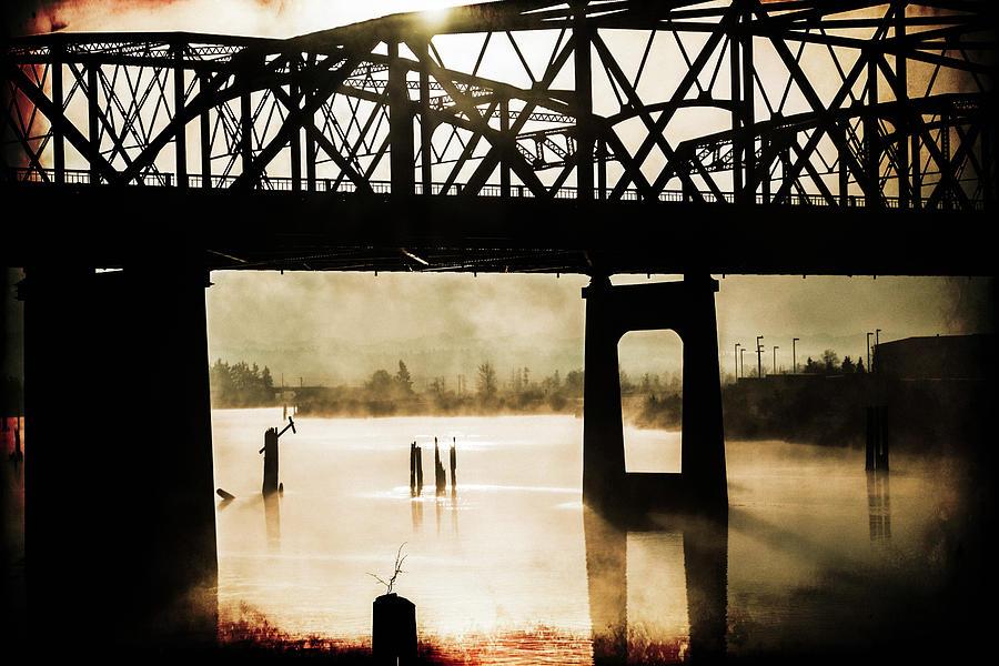 Grunge Photograph - Grunge River by Julie Craig