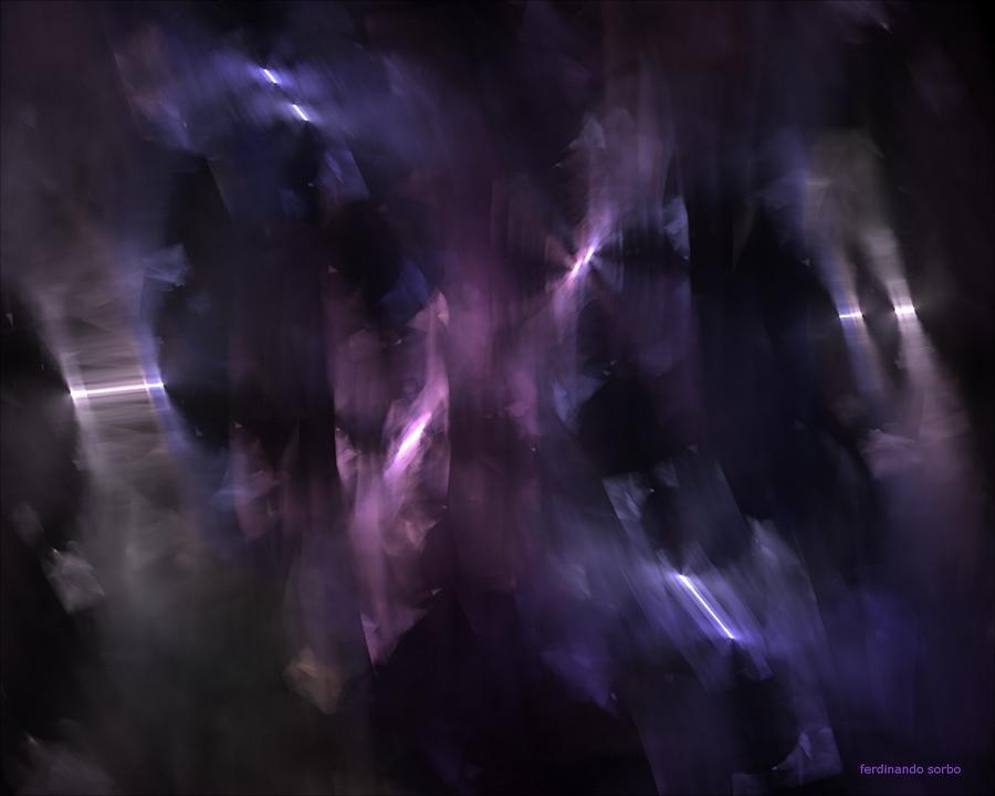 Abstract Digital Art - Gruppo Zero by Ferdinando Sorbo