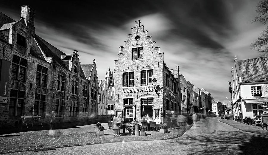 Bruges Photograph - Gruuthuse Hof in Bruges by Barry O Carroll