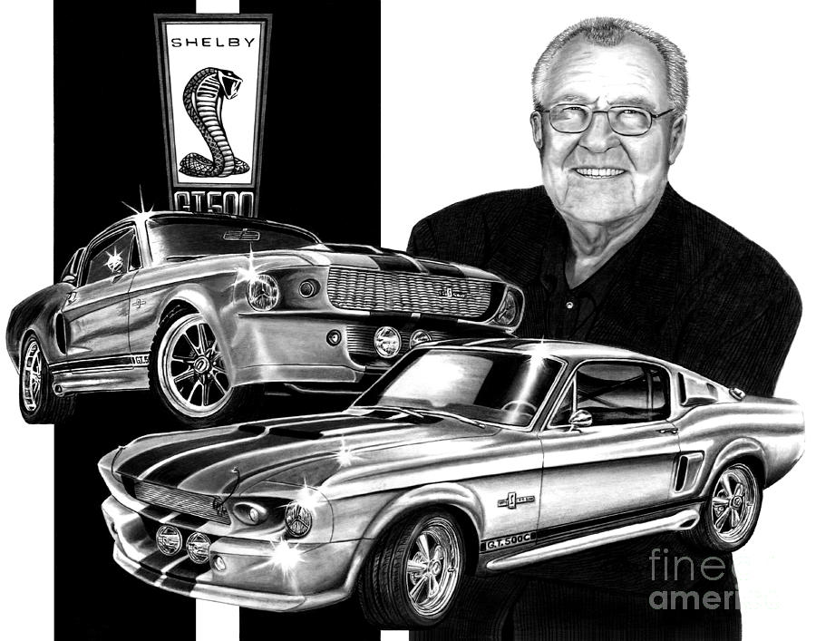 Gt 500 Drawing - Gt 500c by Peter Piatt
