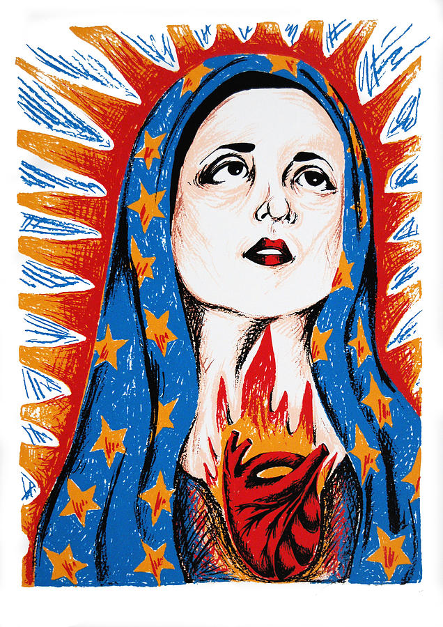 Guadalupe Print - Guadalupe by DeAnn Acton