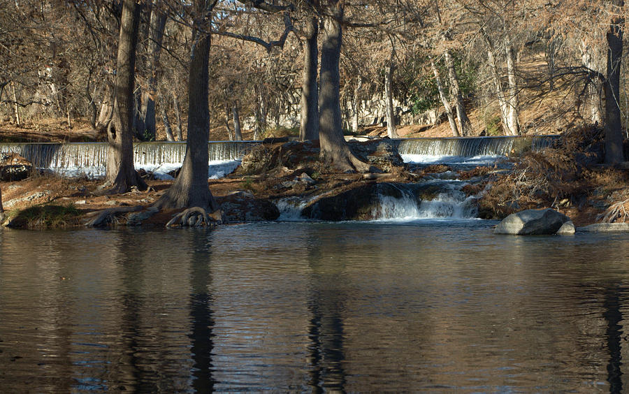 Photograph - Guadalupe Overflows by Karen Musick