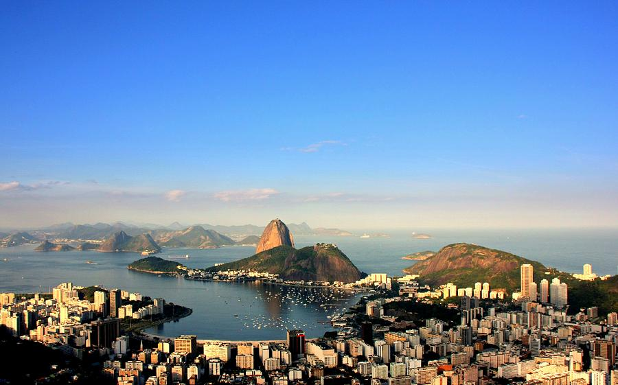 Horizontal Photograph - Guanabara Bay by Luiz Felipe Castro