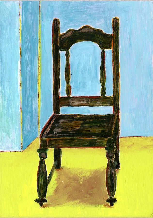 Costa Rica Painting - Guard Chair II by Susan Macdonald