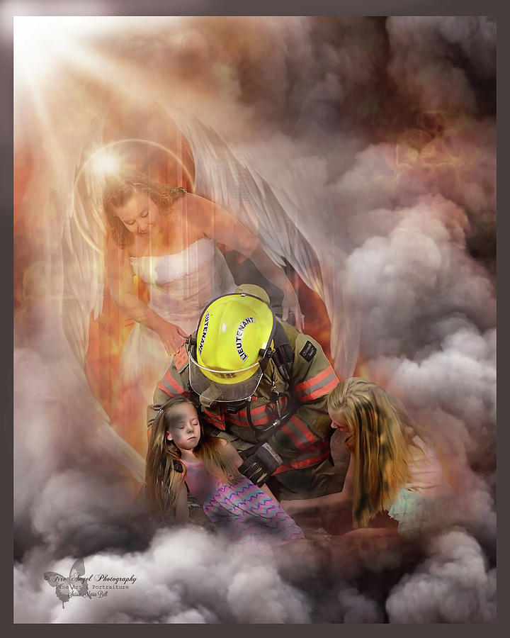 Firefighter Photograph - Guardian 4 by Sussan Bell