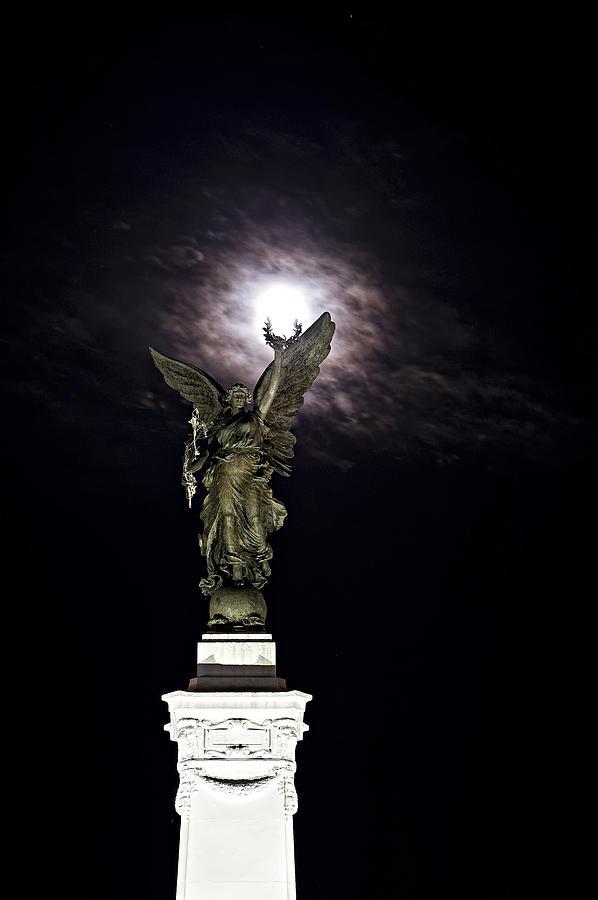 Memorial Photograph - Guardian Angel by Sarita Rampersad