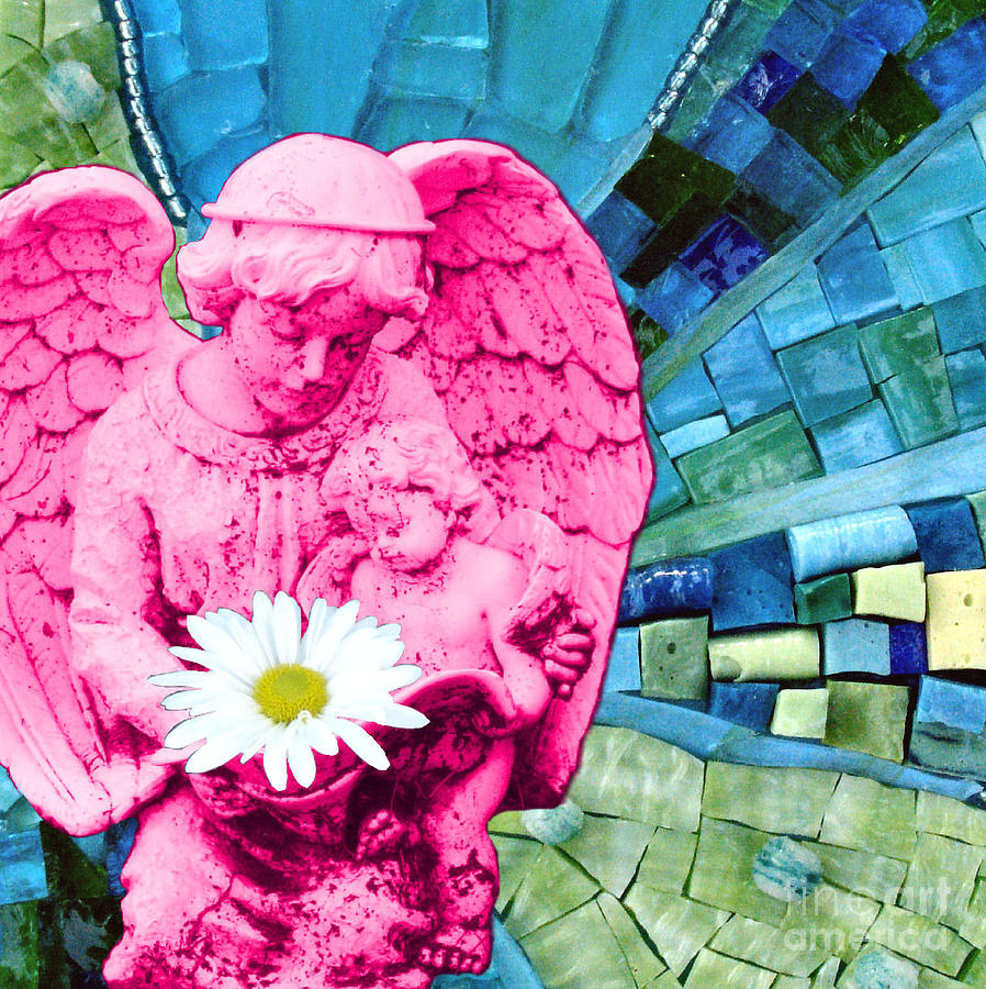 Pink Photograph - Guardian Angel by Valerie Fuqua