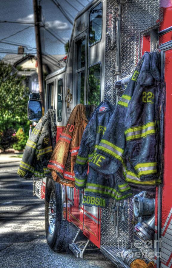 Fireman Photograph - Guardian Angels by Arnie Goldstein