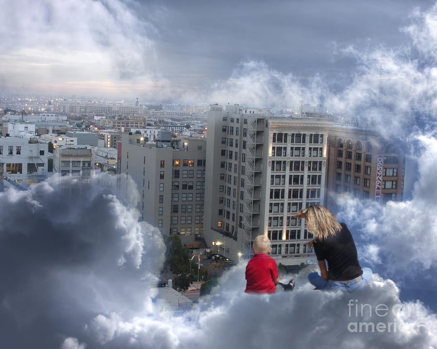 Fine Photograph - Guardian Angels by Debbie Herb