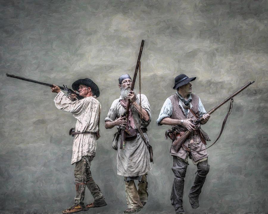 Frontiersman Digital Art - Guardians Of The Frontier by Randy Steele