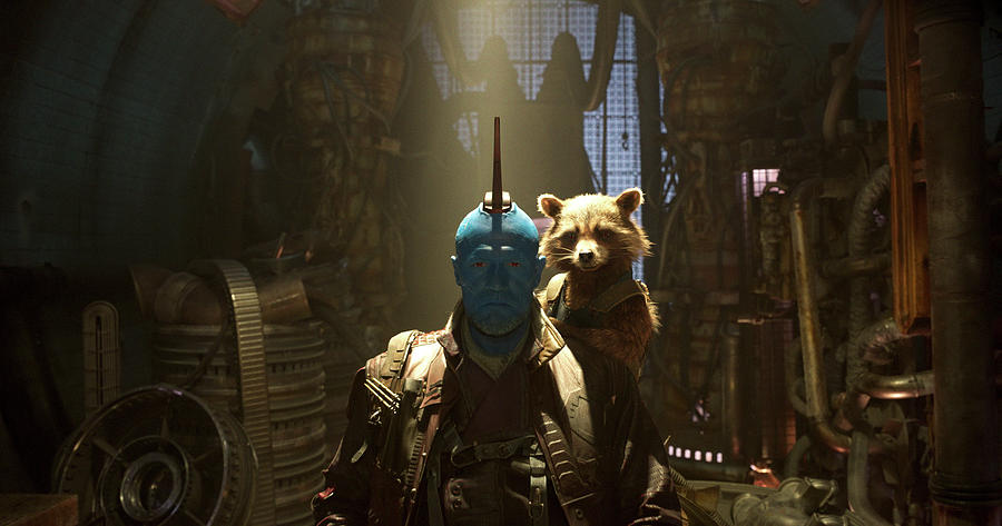 Covering Digital Art - Guardians Of The Galaxy Vol. 2 by Dorothy Binder