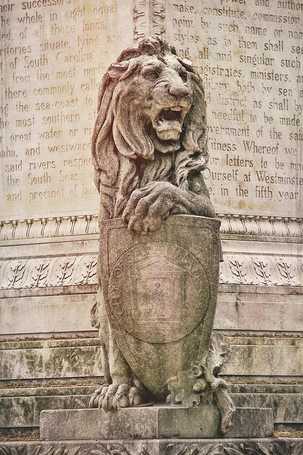 Marble Photograph - Guarding Savannah by JAMART Photography