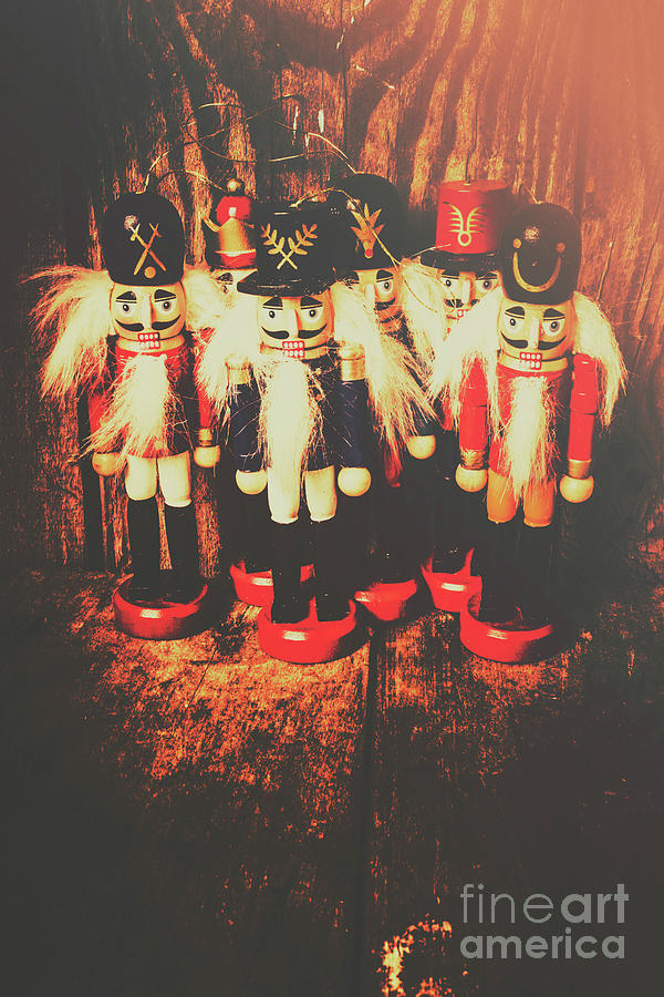 Antique Photograph - Guards Of The Toy Box by Jorgo Photography - Wall Art Gallery