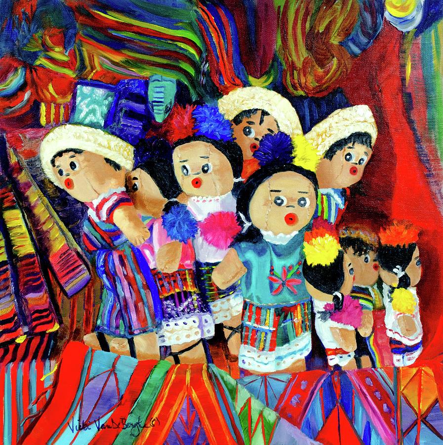Guatemalan Dolls by Vicki VanDeBerghe