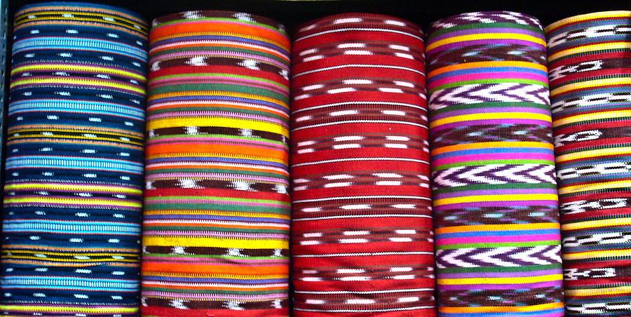 Textile Photograph - Guatemalan Textiles 2 by Douglas Barnett