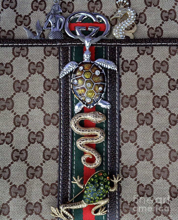 Gucci Photograph - Gucci Monogram With Jewelry 3 by To-Tam Gerwe
