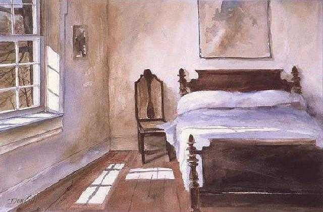 Guest Room Painting by Don Cull