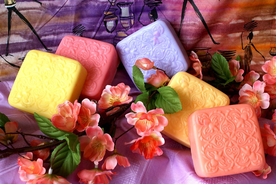 Product Photograph - Guest Soaps by Sonja Anderson