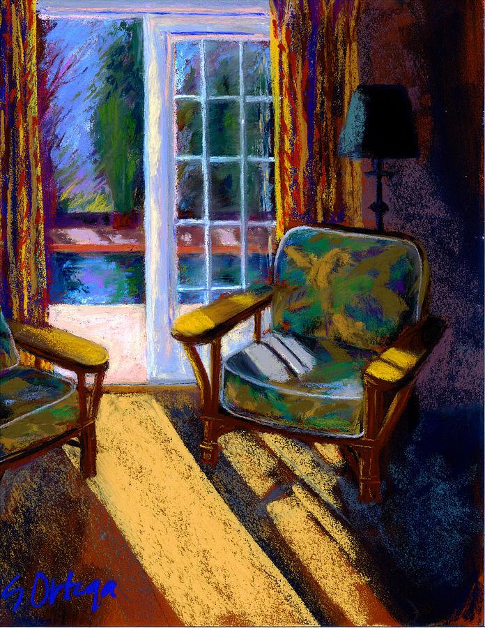 Interior Pastel - Guesthouse In Santa Fe by Sandra Ortega