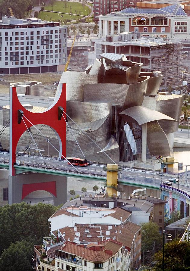 Spain Photograph - Guggenheim Bilbao Museum II by Rafa Rivas