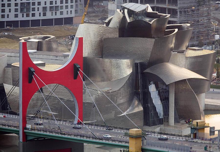 Spain Photograph - Guggenheim Bilbao Museum IIi by Rafa Rivas