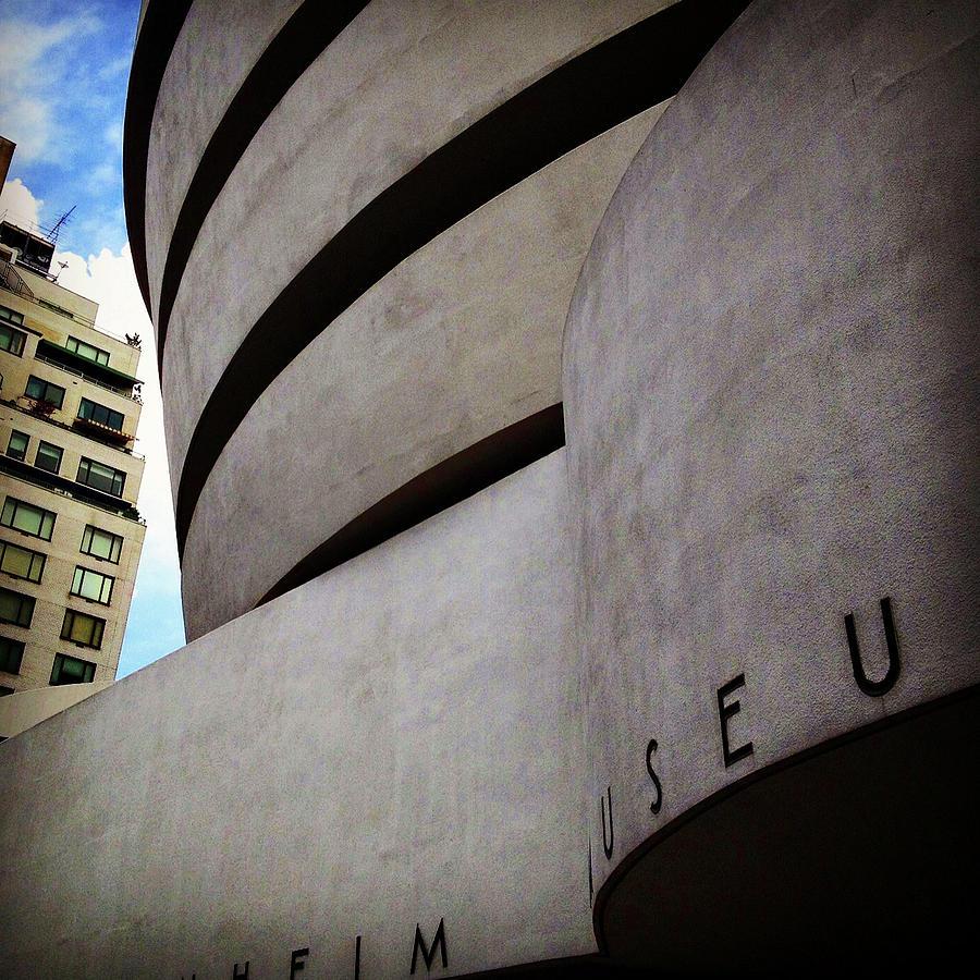 Guggenheim Museum Exterior by Patrick Malon